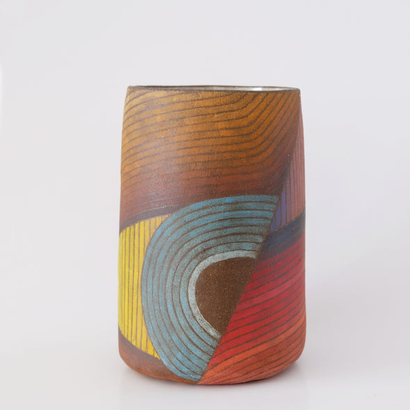 Rory Foster Rust Rose Wave Vessel