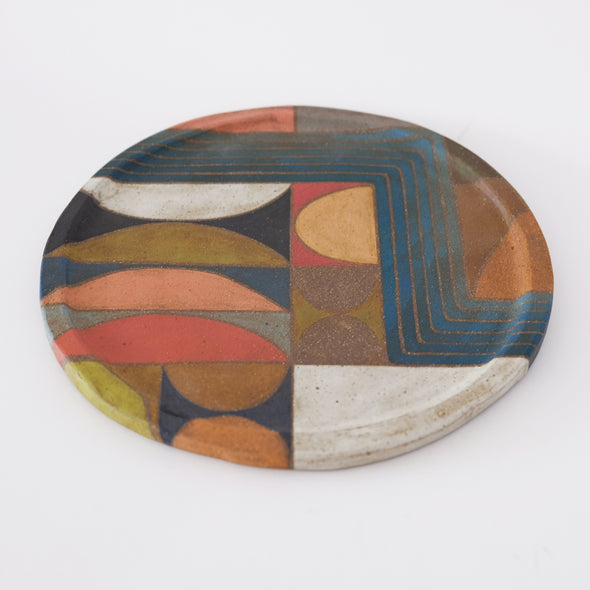 Rory Foster Shapes & Waves Plate