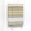 Linen Blanket Stripe Throw