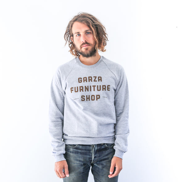 Garza Furniture Shop - Unisex Fleece Raglan Pullover