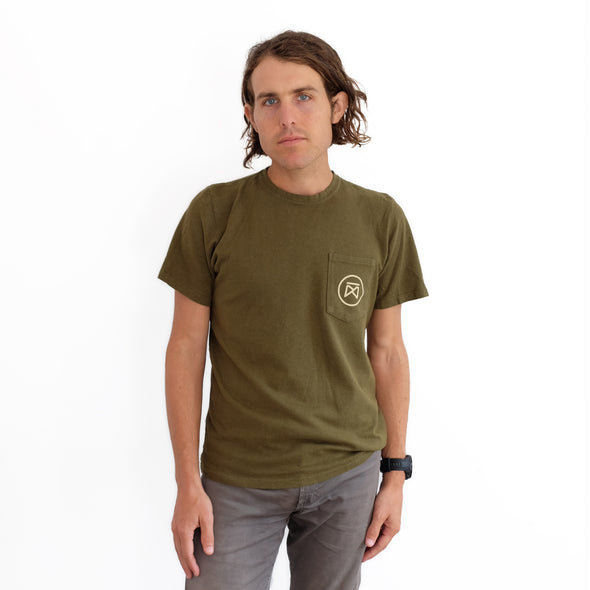 Garza Furniture Jungmaven Pocket Tee - Olive