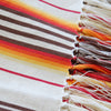 Sunset Striped Cotton Throw