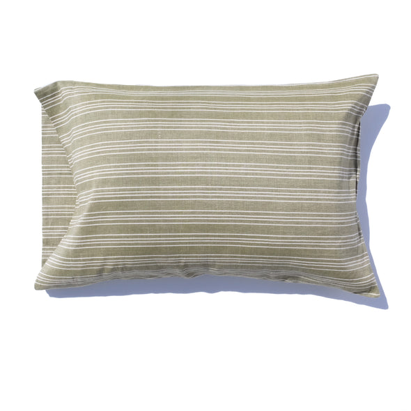 Linen and Cotton Small Ticking Pillowcase