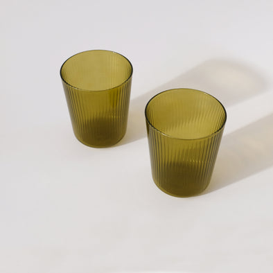 R+D LAB Luisa Acqua,Set of 2 - Citrine Green