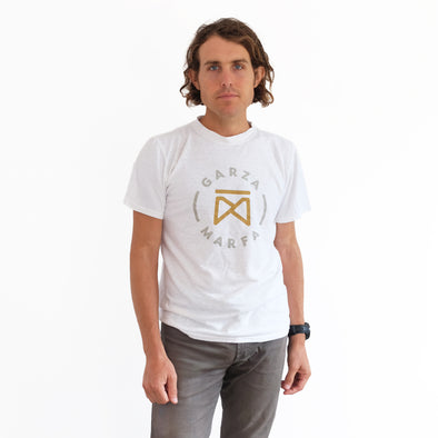 Garza Furniture Jungmaven Optic White Logo Unisex Tee