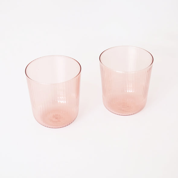 R+D LAB Luisa Vino Cups, Set of 2 - Cameo Pink