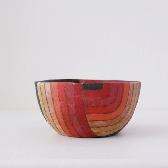 Rory Foster Rosey Wave Bowl