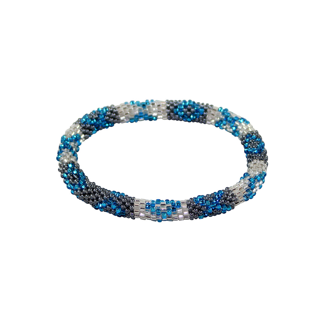 Winter Time Blues Bracelet Snowflakes from Heaven