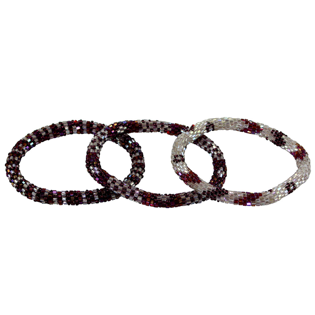 Jam Berry Beaded Bracelet Group