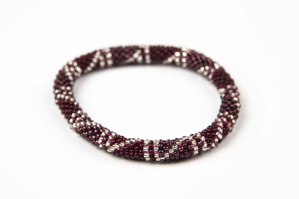 Hidden Gem Bracelet Blush Garnet