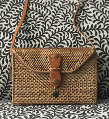 Box Ata Grass Crossbody Bag