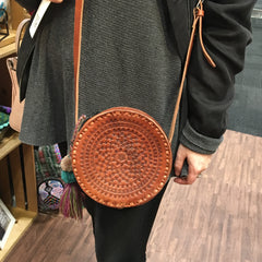 Leather Crossbody Aria Bag NEW!