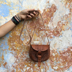 Leather Crossbody Alicia Bag