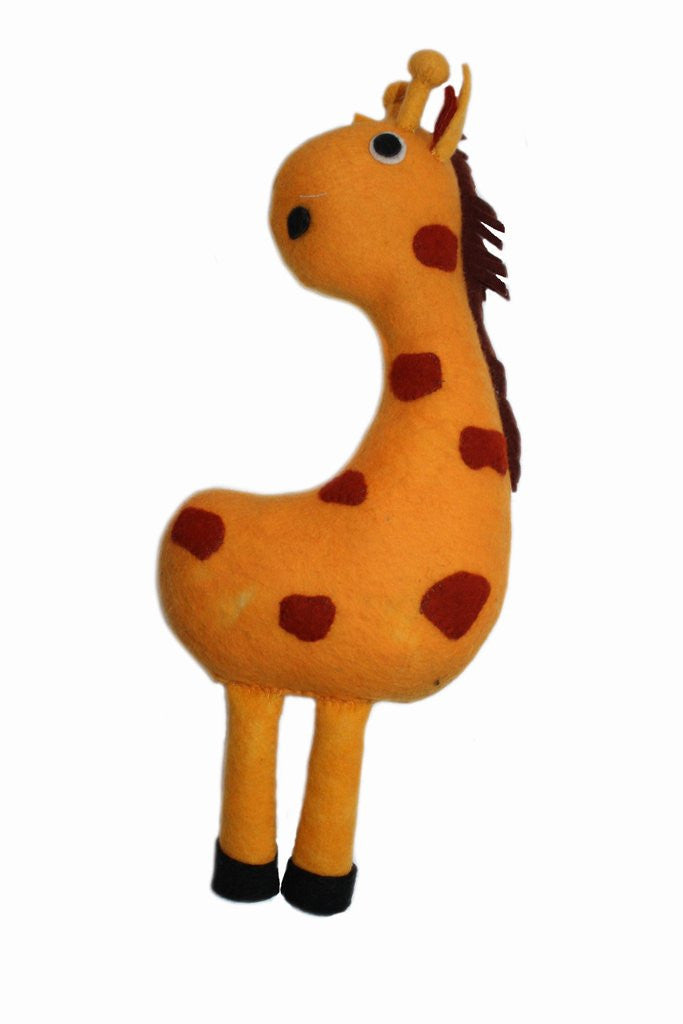 Giraffe Felted Friends Stuffed Animal - NEW!