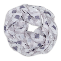Hand-Blocked Printed Cotton Voile Scarves - Gretta Heather