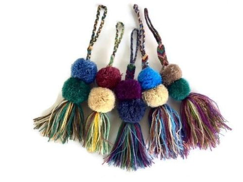 Friendship Tassel Zipper Pull - NEW!