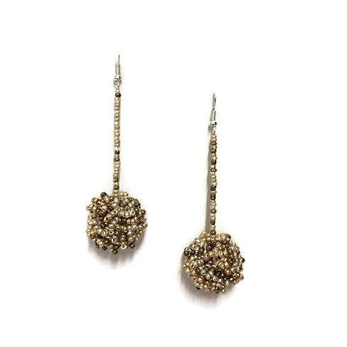 Luna Beaded Earrings New