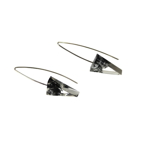 Sustainable Plant Based Eco-Resin Triangle Earrings NEW