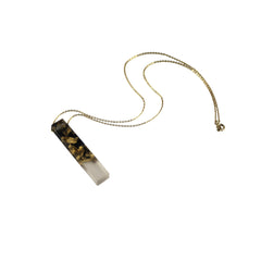 Sustainable Plant Based Eco-Resin Mini Palito Stick Necklace