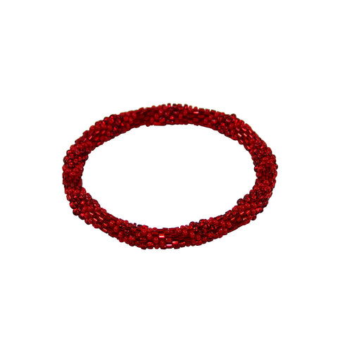Roses are Red Bracelet Crimson Rose NEW