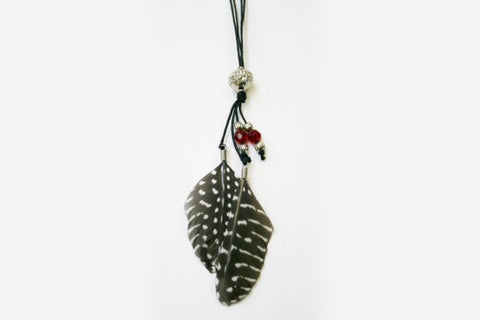 Malaika Feather Necklace