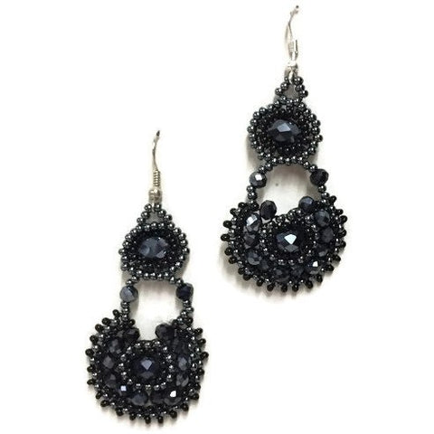 """Chloe"" Beaded Earrings New"