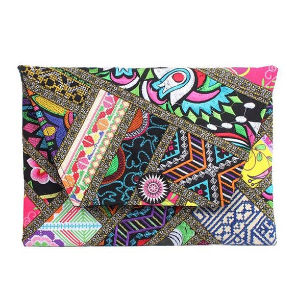 Patchwork Clutch - Thailand NEW!