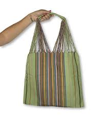 Poppy Striped Tote