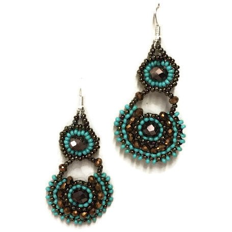 Chloe Beaded Earrings New