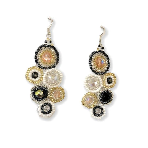 """Bola"" Beaded Earrings New"