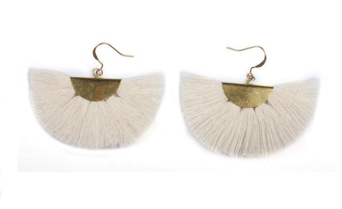 Cleo Fringe Earrings- Thailand NEW!