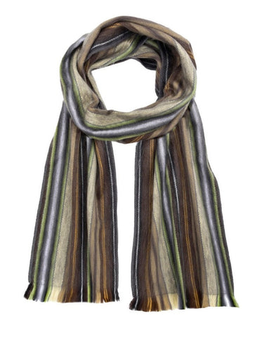 Alpaca Unisex Scarves Chocolate Mint