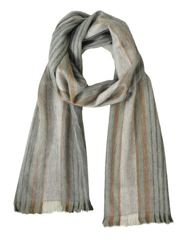 Alpaca Unisex Scarves Travertine