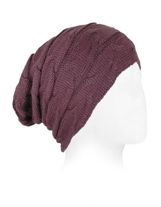 Alpaca Cable Stitch Hat