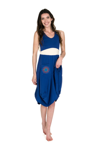 Cobalt Native Dress