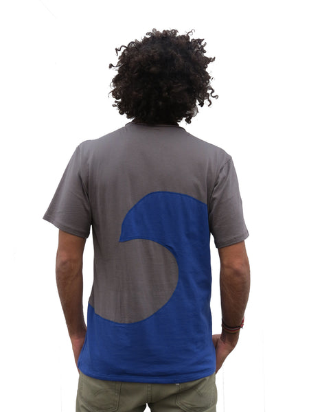 Fishwear Men's Swell Tee by Free Flying Fish. The best Pima Cotton from Peru. Free Wear, Organic Clothing, Fair Trade Clothing, Unique Clothing, Pima Cotton, Surf T-shirt, T-shirt