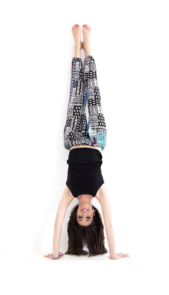 Creative and Unique Harem Pants and Yoga Pants by Free Flying Fish. Unique Clothing, Ecofashion, Sustainable Fashion, Free Flying Fish, Yoga Clothes, Women Clothes, Splitters