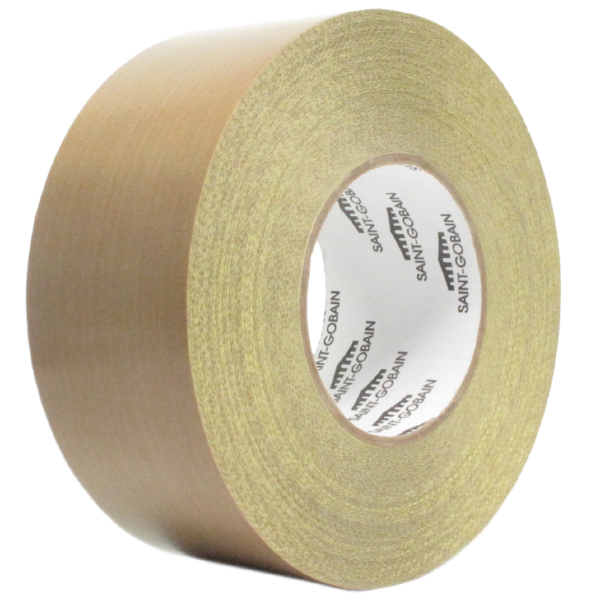 Saint-Gobain SG35-05R - Professional Industrial High Temperature PTFE  Fiberglass Fabric Tape with Liner - 36 Yards