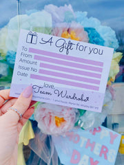 Gift Voucher - Wardrobe By Simone