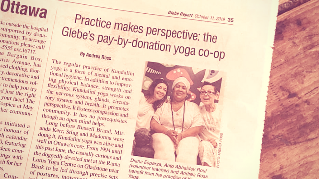 Kundalini Yoga Co-op in Ottawa