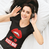 Kiss Me Short Sleeve V-Neck T-Shirt