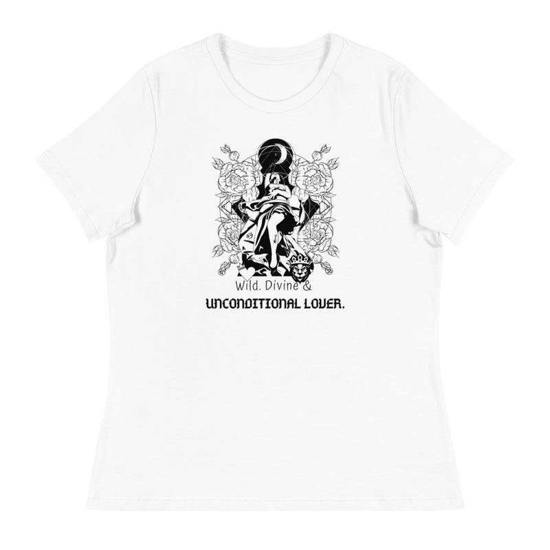 Wild, Divine & Unconditional Lover  Women's Relaxed T-Shirt