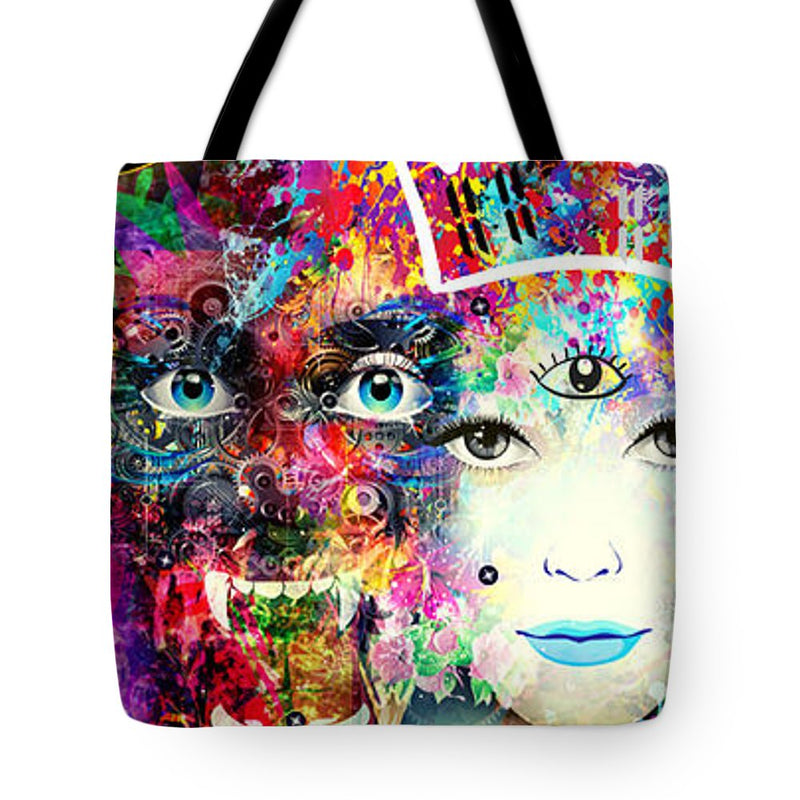 Panther Spirit Animal - Tote Bag