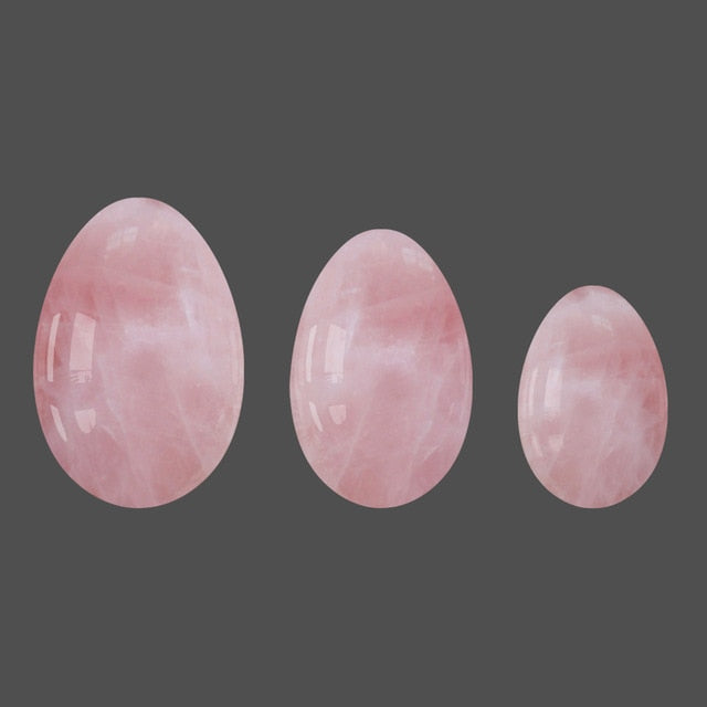 Rose Quartz Yoni Egg