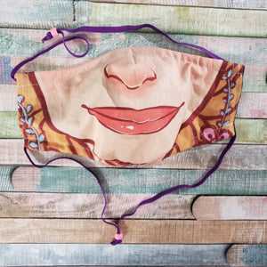 Large Rapunzel Mask