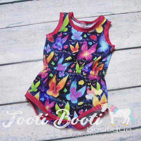 The Baby Girl's Romper
