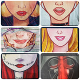 Large or Medium Face Panel Masks