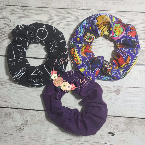 PREORDER Scrunchies (set of 3)
