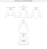 Lounge Hoodie and Crop Top (Kids)