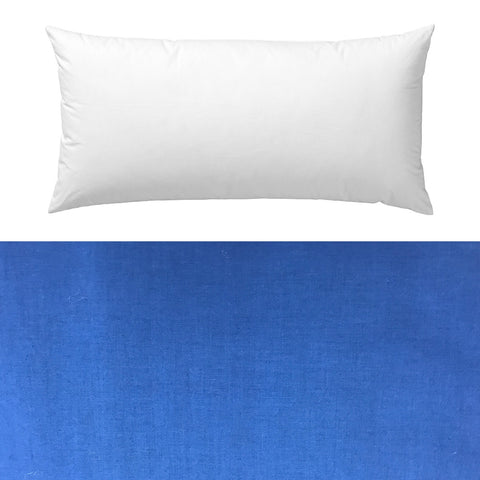 Blue Classic Cotton Pillow Cover